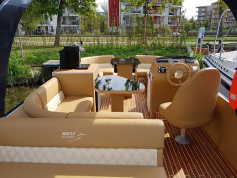 Kültéri bútor kárpitozása - hajóbútor