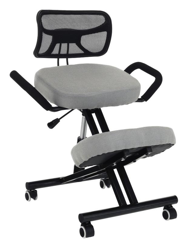 Térdeplõ szék karfával, háttámlával