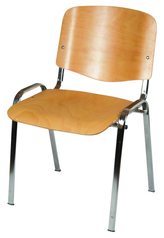 ISO WOOD CROM natúr lakozott szék