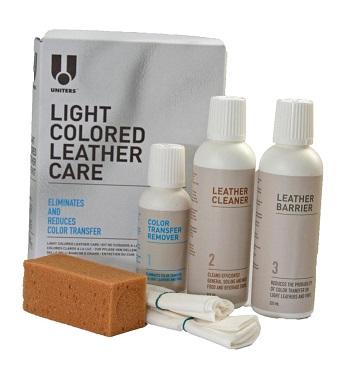 Light color leather care, bõrápoló készlet