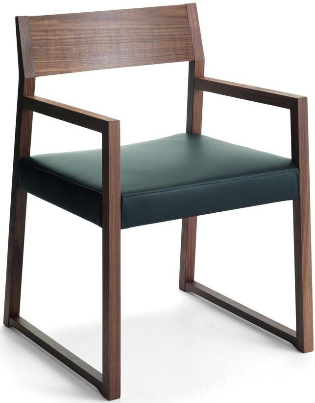 LINEA PO tömör bükk favázas szék