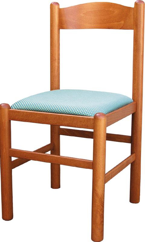 PISA tömör bükk favázas szék