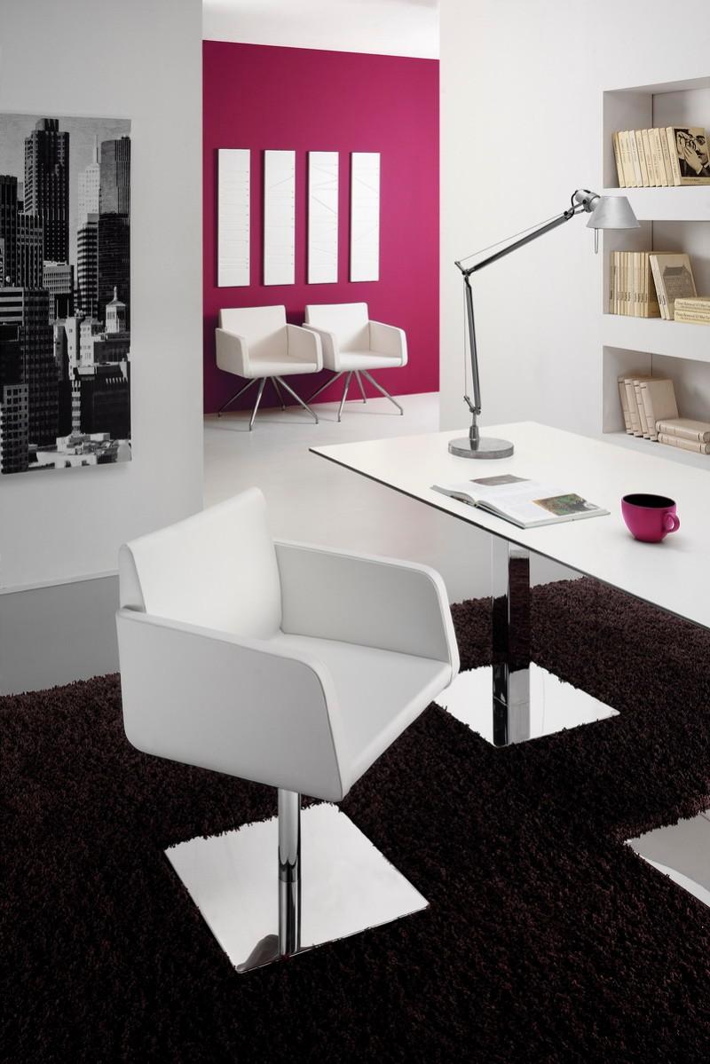 SOFIA 4001 B modern karfás fotel