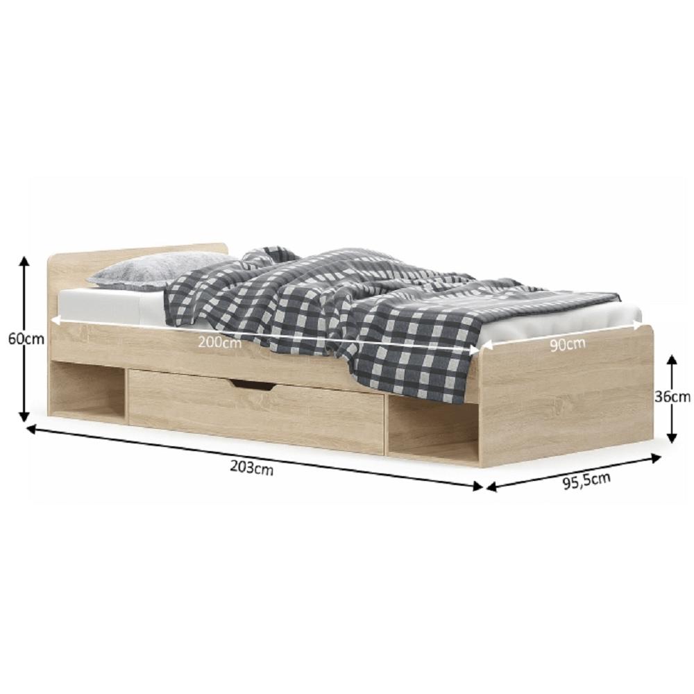 Egyszemélyes ágy 1S/90 712