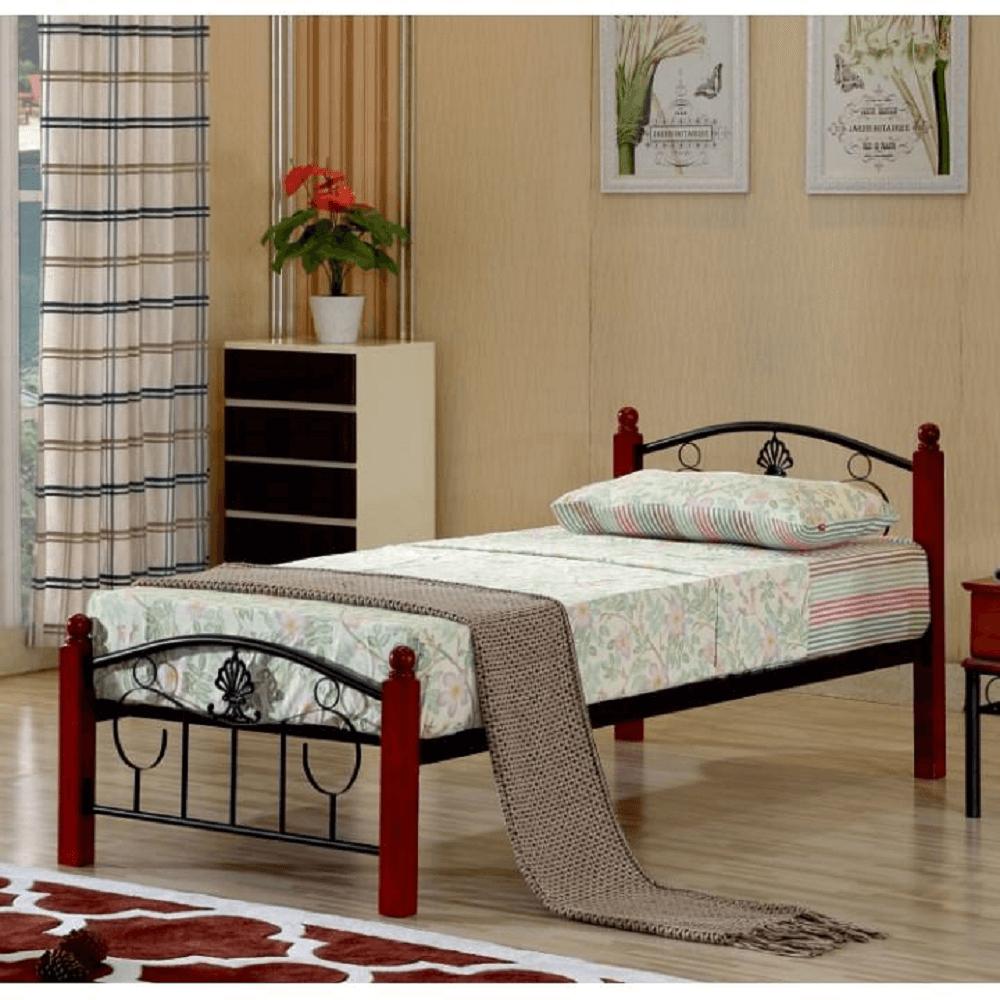 fém ágy ágyráccsal 146
