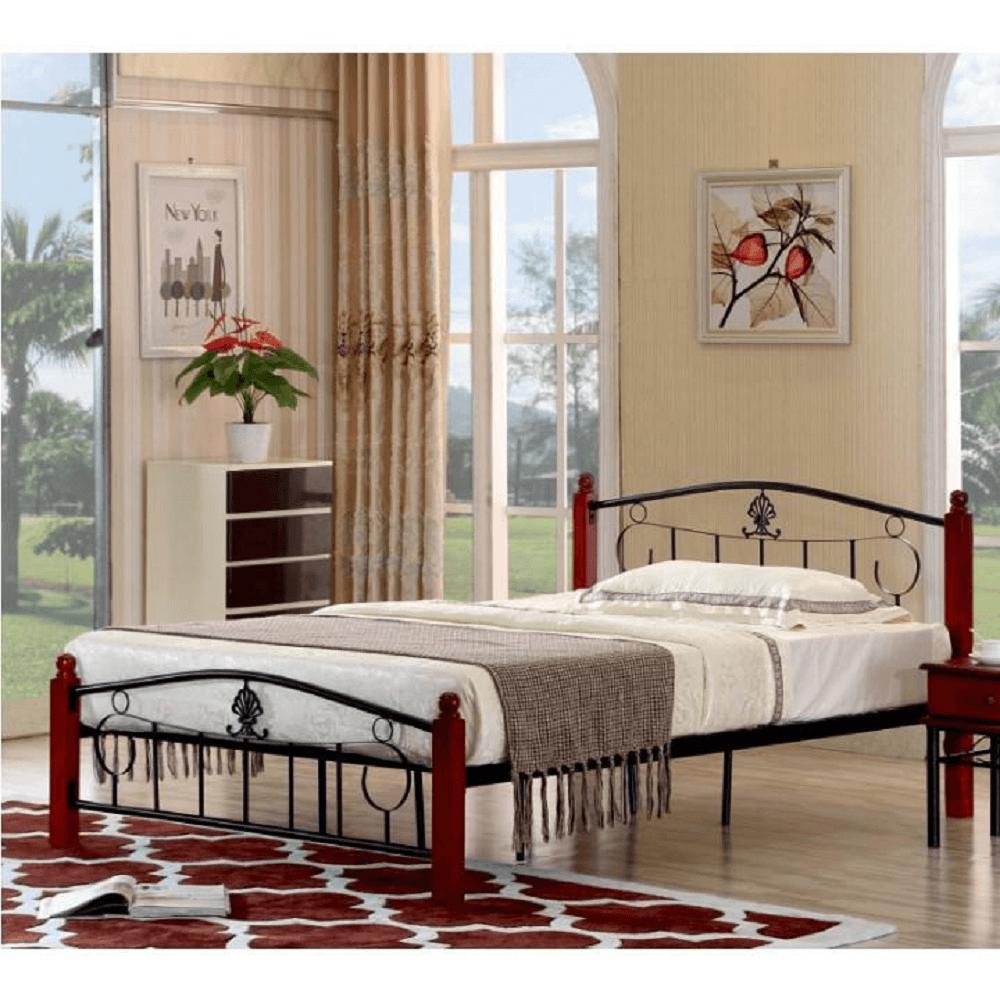 Fém ágy ágyráccsal 147
