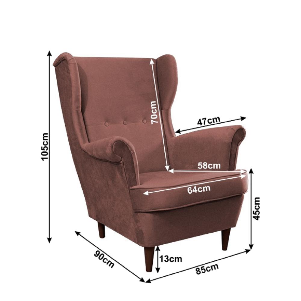 Füles fotel 151